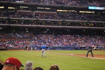 Citizens Bank Park, section: 111, row: 5, seat: 11