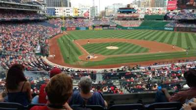 Nationals Park, section: 216, row: D, seat: 9