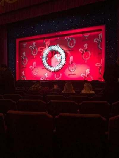 Fox Theatre (Detroit), section: F4, row: J, seat: 414