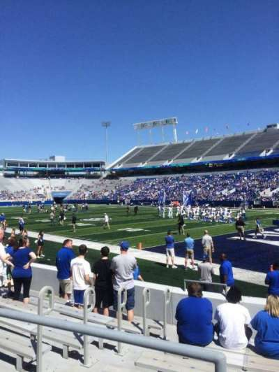 Kroger Field, section: 31, row: 9, seat: 1