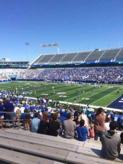 Kroger Field, section: 30, row: 36, seat: 10