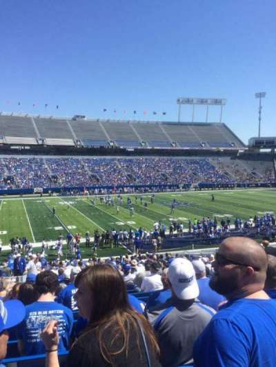 Kroger Field, section: 24, row: 33, seat: 5