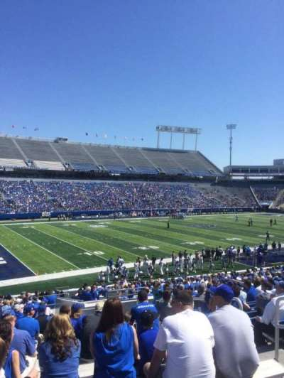 Kroger Field, section: 22, row: 31, seat: 21