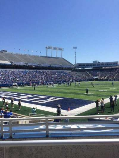 Kroger Field, section: 20, row: 11, seat: 10