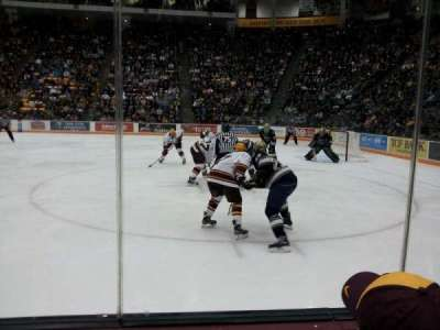 Mariucci Arena, section: 5, row: 2, seat: 1