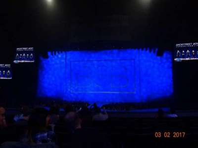 The Axis Theater, section: 103, row: H, seat: 10-11