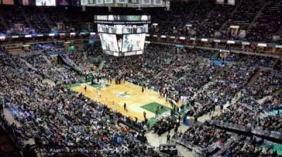 BMO Harris Bradley Center, section: 416, row: N, seat: 10