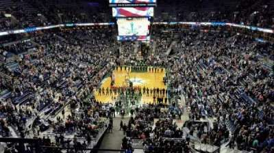 BMO Harris Bradley Center, section: 410, row: F, seat: 12