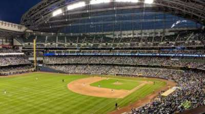Miller Park section Northwestern Mutual Club