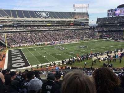 Oakland Alameda Coliseum, section: 222, row: 10, seat: 4