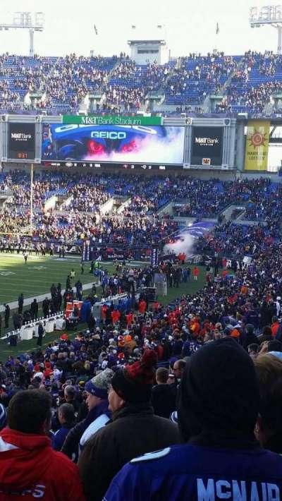 M&T Bank Stadium, section: 133, row: 34, seat: 11