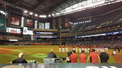 Chase Field, section: N, row: 7, seat: 8