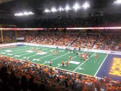 Spokane Arena, section: 106, row: K, seat: 14