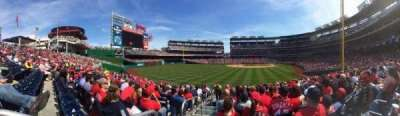 Nationals Park, section: 105, row: Z, seat: 20