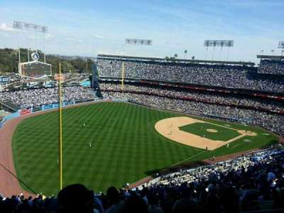 DODGER STADIUM section 49RS