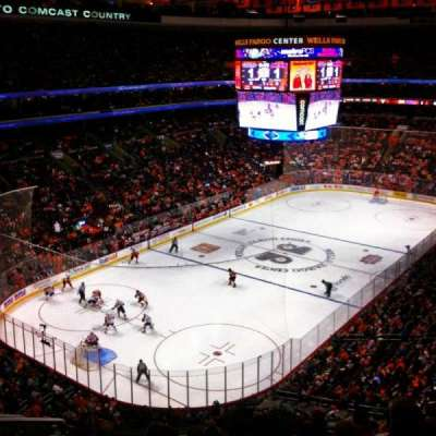 Wells Fargo Center section 209a
