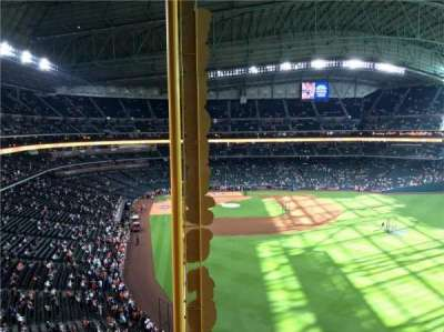 Minute Maid Park, section: 336, row: 1, seat: 11