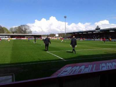 Broadhall Way, section: South Stand, row: B
