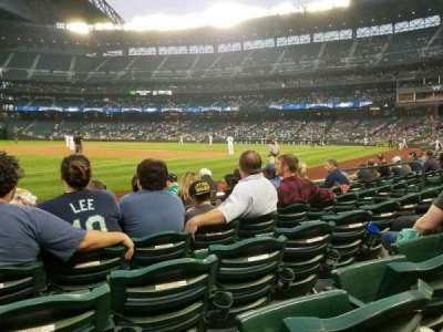 Safeco Field, section: 143, row: 6, seat: 13