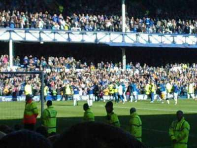 Goodison Park, section: gwladys, row: n , seat: 62