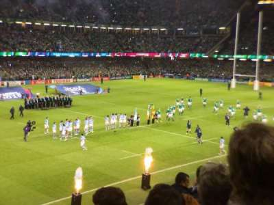 Principality Stadium, section: m12, row: 9, seat: 24