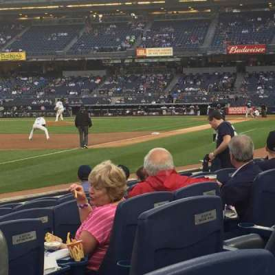 Yankee Stadium, section: 029, row: 6, seat: 2