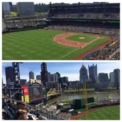 PNC Park, section: 332, row: m