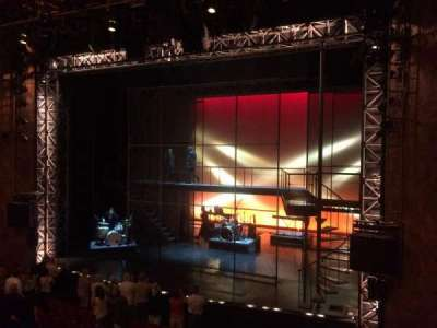 August Wilson Theatre, section: Mezzanine Right, row: A, seat: 10