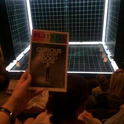 Ethel Barrymore Theatre, section: Front Mezzanine, row: D, seat: 112