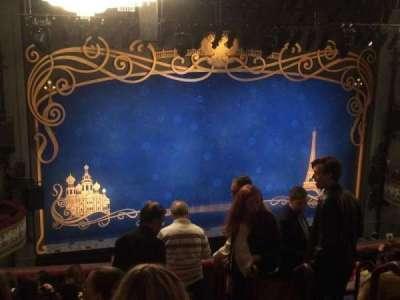 Broadhurst Theatre, section: Mezz, row: K, seat: 7