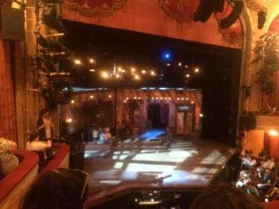 Bernard B. Jacobs Theatre, section: Mezz, row: B, seat: 21