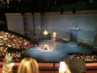 Vivian Beaumont Theater, section: Loge C, row: B, seat: 412