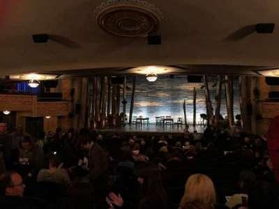 Gerald Schoenfeld Theatre, section: Standing Room, row: SRO, seat: 109