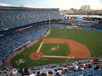 Old Yankee Stadium, section: Tier 11, row: L, seat: 3