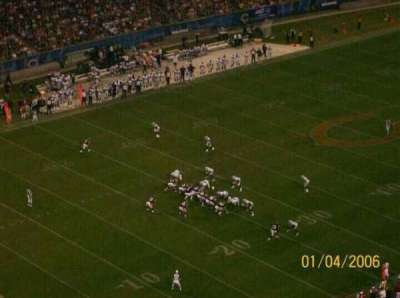 Soldier Field, section: 444, row: 32, seat: 18