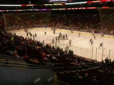 Wells Fargo Center, section: Club Box 4, row: 1, seat: 5