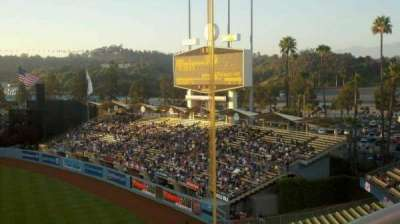 Dodger Stadium, section: 40RS, row: A, seat: 1