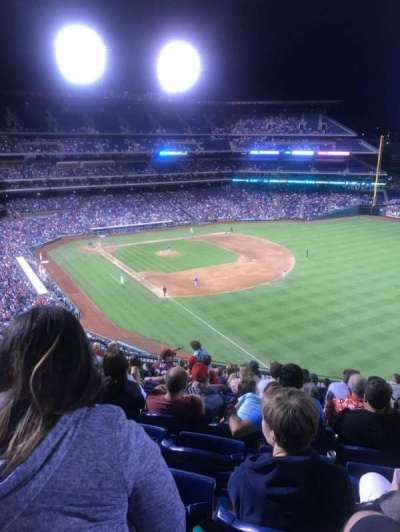 Citizens Bank Park, section: 308, row: 12, seat: 17