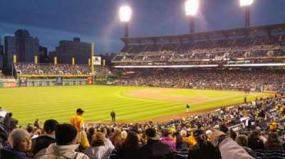 PNC Park, section: 130, row: y, seat: 11