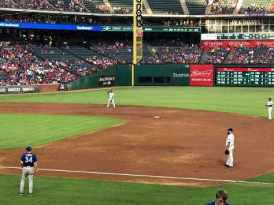 Globe Life Park in Arlington, section: 335, row: 18, seat: 11