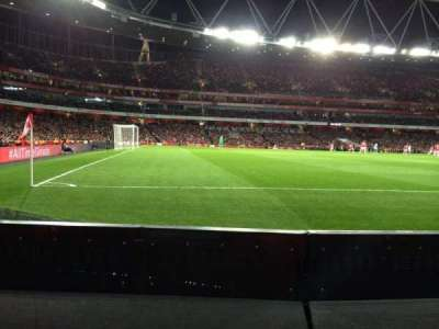 Emirates Stadium, section: 20, row: 1, seat: 604