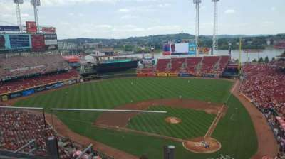 Great American Ball Park, section: 521, row: B, seat: 14