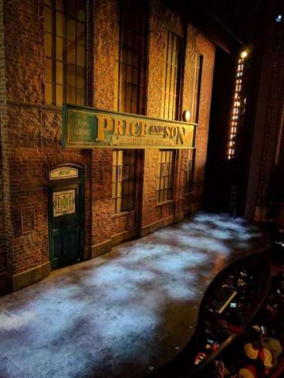 Al Hirschfeld Theatre, section: LBOX, row: B, seat: 3