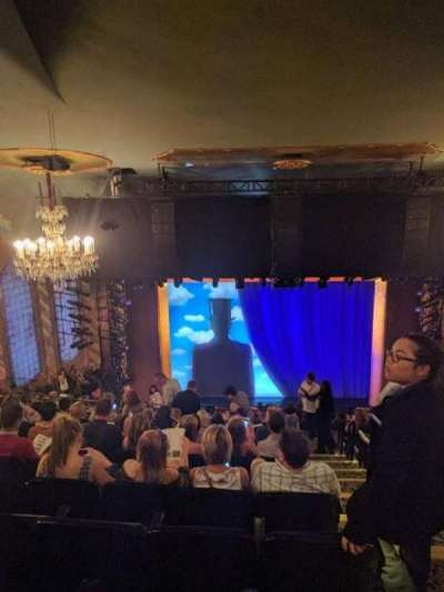 Lunt-Fontanne Theatre, section: RMEZZ, row: L, seat: 101