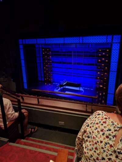 Stephen Sondheim Theatre, section: Mezzanine, row: CC, seat: 2