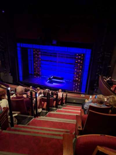 Stephen Sondheim Theatre, section: Mezzanine, row: HH, seat: 2