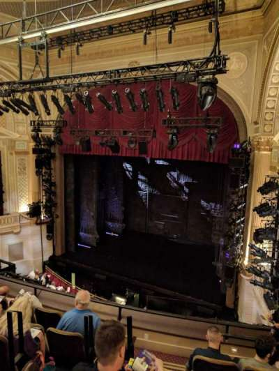 Samuel J. Friedman Theatre, section: MEZZ, row: D, seat: 6