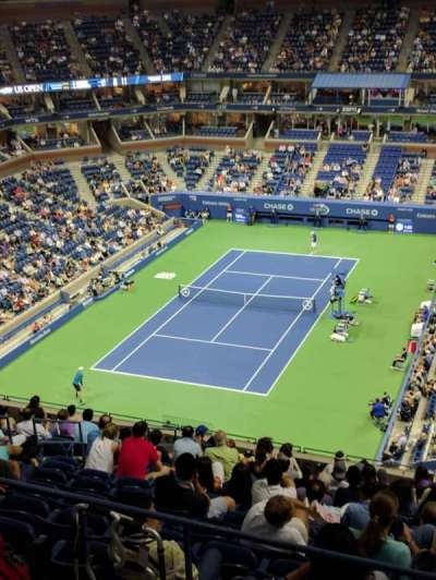 Arthur Ashe Stadium, section: 322, row: F, seat: 31