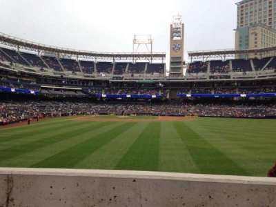 PETCO Park, section: 133, row: 2, seat: 10