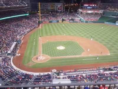 Nationals Park, section: 317, row: L